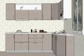 Светлая угловая кухня из МДФ - изображение 3