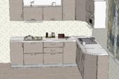 Светлая угловая кухня из МДФ - изображение 2